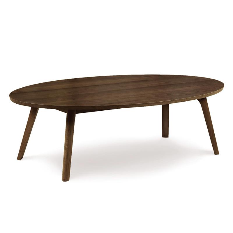 Кофейный столик «Каталина» овальный из ореха
