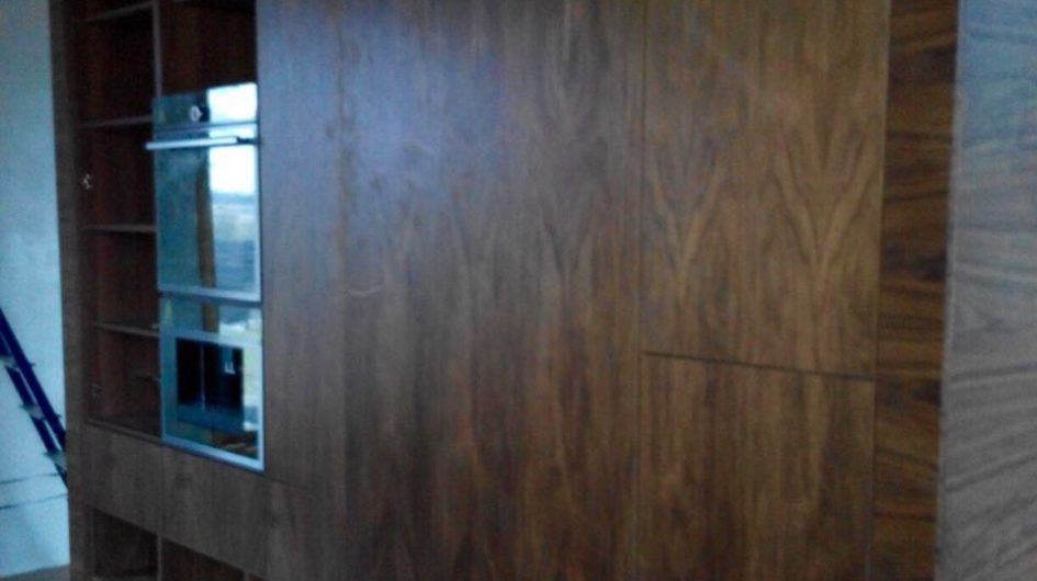 Шкаф в стиле Модерн из шпона
